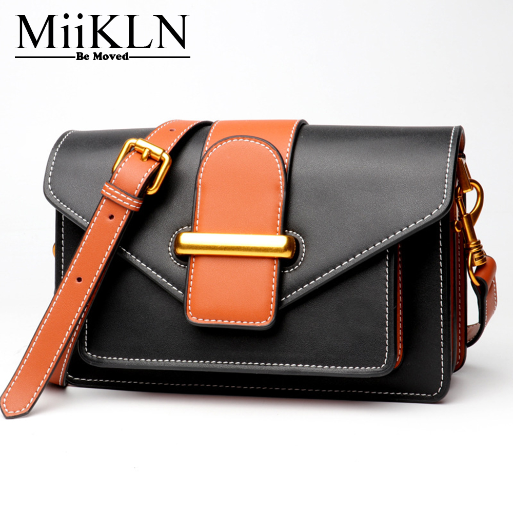 купить MiiKLN Cow Split Leather Solid Small Women Bags Soft Mini Flap Messenger Bags For Female Ladies Shoulder Bag по цене 3608.63 рублей