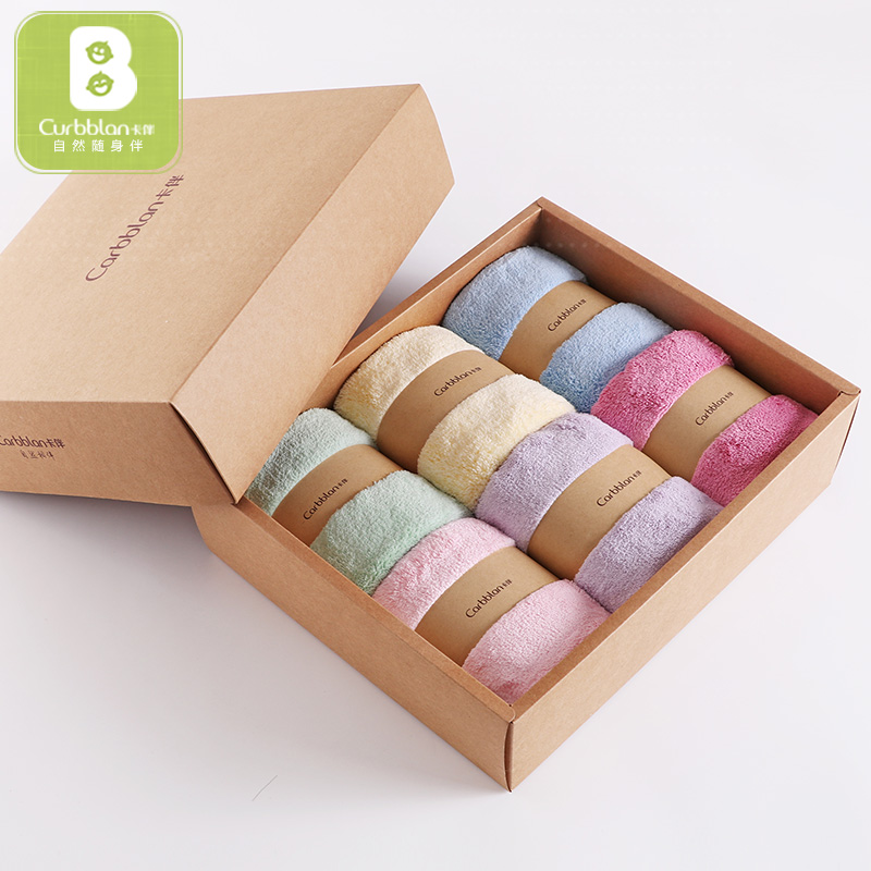 Baby towel 100% cotton 34*80cm newborn baby bath towel Cotton thickened baby washcloth 6pcs Curbblan Quick Dry Towels bathroom 1 piece baby bath towels 100