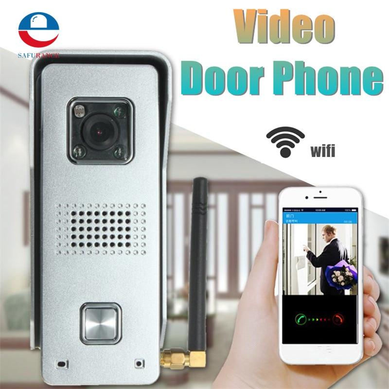 WiFi Video Door Phone 2.4G Metal Doorbell  Support Wireless Unlock Night Viewing&Water&Humidity Proof water proof ip55 app remote control 720p wifi doorbell video door phone