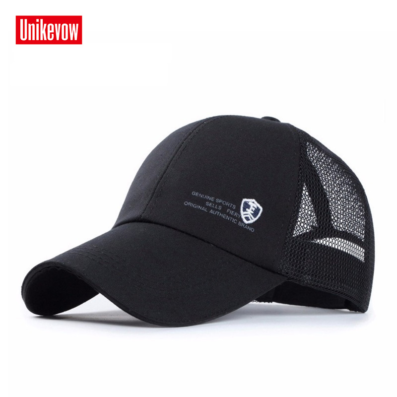 1piece Casual cotton Baseball cap Genuine men's sports snapback caps with letter shield logo outdoor fashion running hats