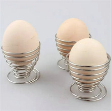 Rack Stand-Storage Egg-Tools Spring-Tray Boiled-Eggs-Holder Kitchen-Gadgets Stainless-Steel