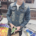 Spring Fashion Brand Design Men Thin Denim  Casual Jacket Men's Outerwear Jeans Coats High Quality  Male Jacket  M-3XL#JJCC1501