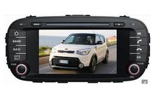 Android 5.1 car dvd GPS for KIA Soul 2014 radio gps wifi 3G Mirror link free map and reverse camera