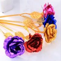 رخيصة 10 قطع البلاستيك الذهب احباط الذهب الاصطناعي الزهور هدية الزفاف إمدادات حزب زينة marriag (لا تشمل مربع)-b