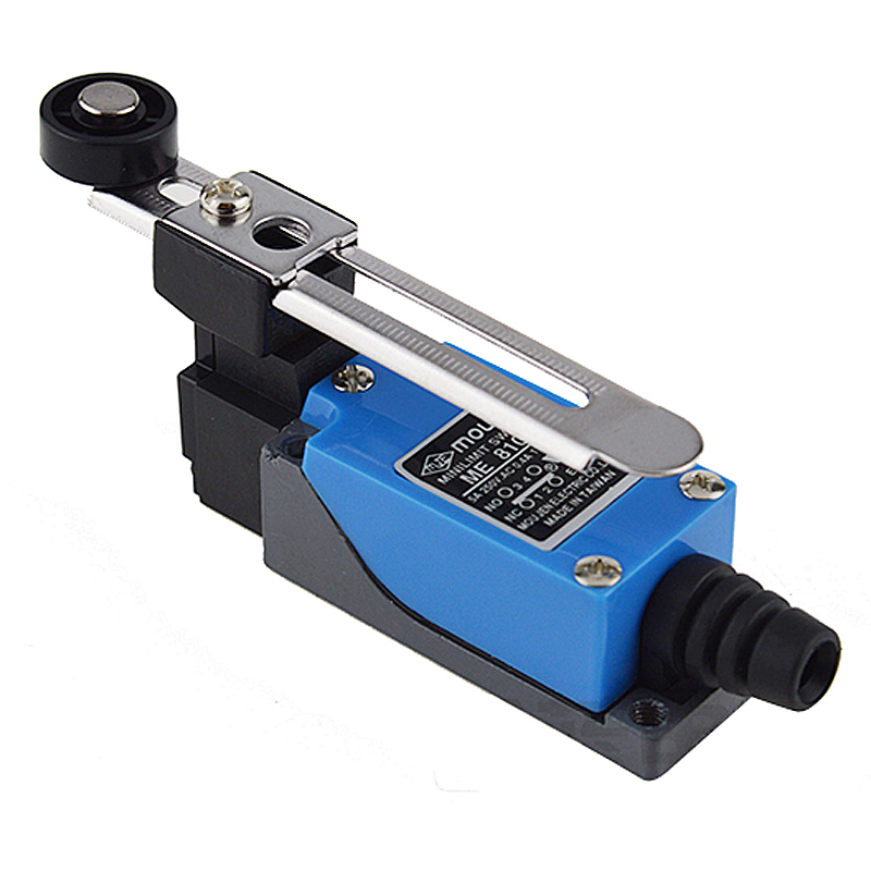 Professional Electrical Switches Dustproof Rotary Roller Lever Limit Switch Overtravel-limit For CNC Mill Laser Plasma ME-8108