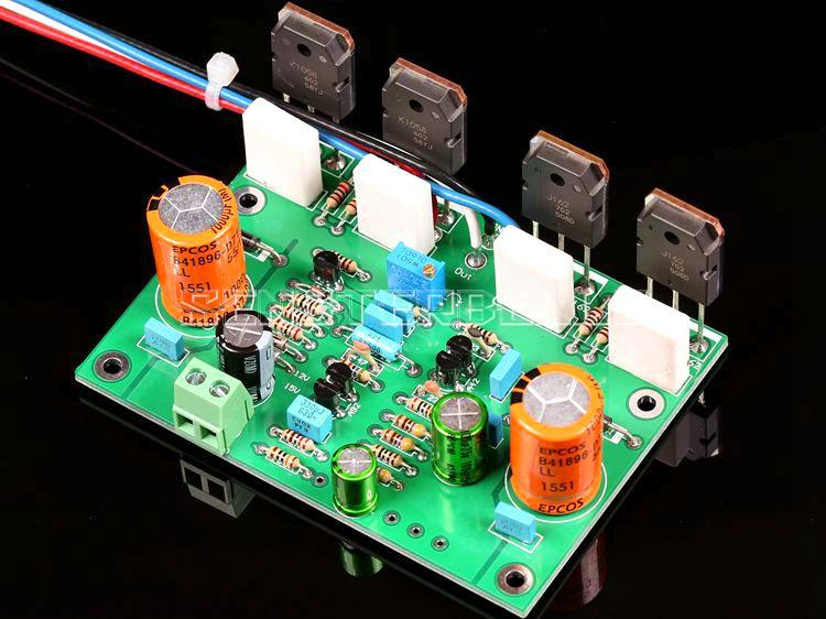 Assembly K1058/J162 Pure Class A Field Tube Parallel Mono Amplifier Board Based on Musical Fidelity A2 Circuit цена и фото