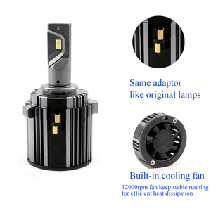 Image 5 - mk7 headlight bulb white canbus error free low beam 60W 7600LM 6000K 12V waterproof csp h7 led for golf 7