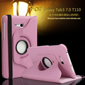 360 rotating pu couro stand case capa para samsung galaxy tab3 7.0 lite t110 t111 caso tablet para samsung t113 T116