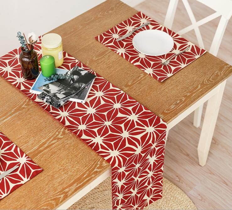 Modern Table Mat Coaster Fabric Linen Cotton Dining Placemat Pad Decorative Mats Decoration Kitchen Wares In Pads From Home