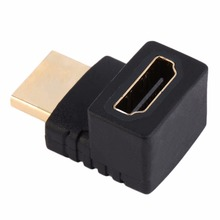 270 Degree Right Angled HDMI A Male to Female Cable Coupler Adaptor For HDTV