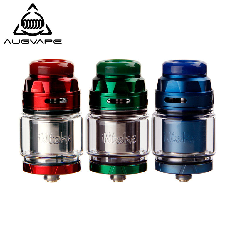 Augvape INTAKE RTA Tank 4.2ml Electronic Cigarette Atomizer Leak Proof Bottom Airflow Direct To Coil Single Coil 24mm RTA Tank