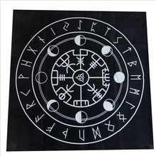 Tarot special tablecloth Black flannel Divination 49*49cm cross-border board game