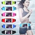 Saco da cintura impermeável sport gym case para iphone 7 6 s plus 5S se para xiaom 2 3 para samsung galaxy s6 s7 tampa à prova de choque ao ar livre