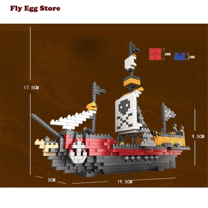 Aliexpress.com : Buy New 780pcs pirate ship Model Building Kits ho ...
