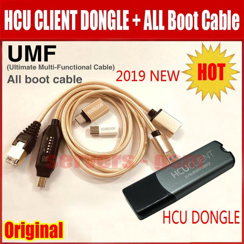 2019 новые оригинальные HCU ключ + DC Феникс телефон конвертер для huawei с микро USB RJ45 Многофункциональный загрузки все в 1 зарядный кабель