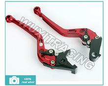 CNC Long Straight Brake Clutch Levers Lever for KAWASAKI ZX-6 ZZR 600 ZX6R ZR 750 ZX9R ZXR 400 GPZ 500 ER-5 KLE 500 NINJA 650R