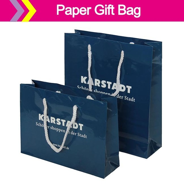 Jewelry Packaging Paper Bag Design Suppliers Kraft Paper Handle