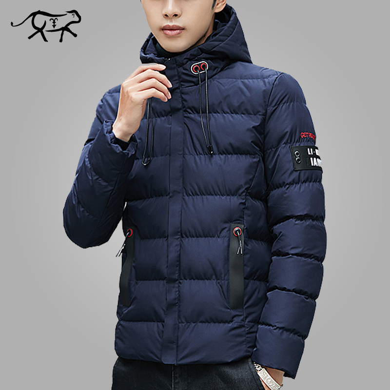 New Winter Jacket Men Clothes 2018 Warm Hooded Overcoat Slim fit Fashion Casual Brand   Parkas   Male Jacket And Coat Mans Outerwear