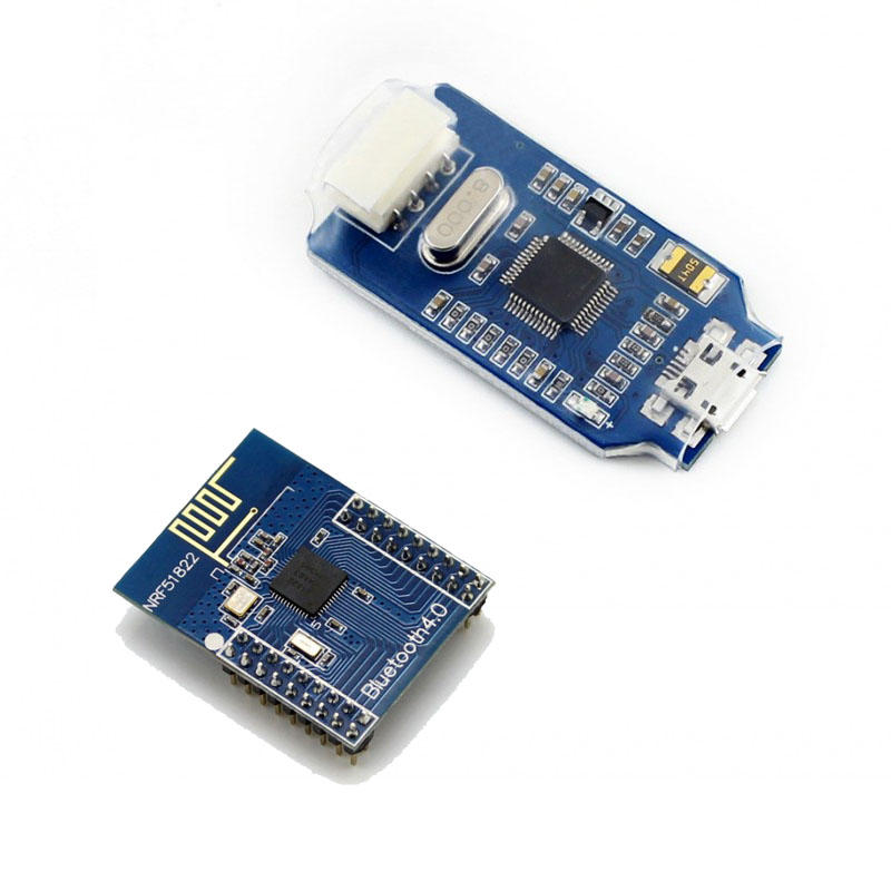 ARM Debugger Programmer + Core51822 NRF51822 Bluetooth Module BLE4.0 2.4G Wireless Board With Pinheaders