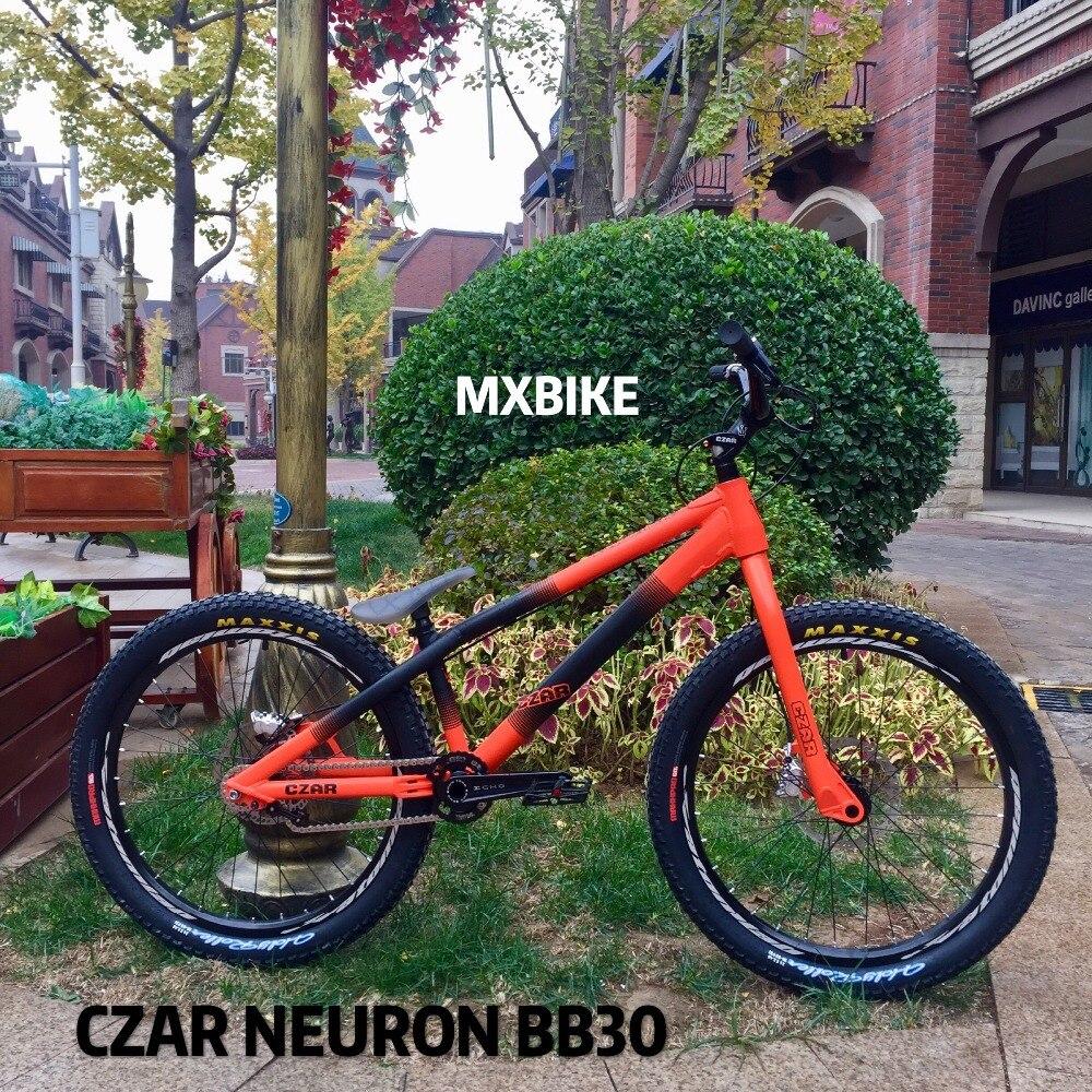 Le plus récent vélo ECHO Original tsar-s NEURON PRO 24 pouces essais de rue vélo bricolage BB30 peinture double couleur inspiré Danny MacAskill