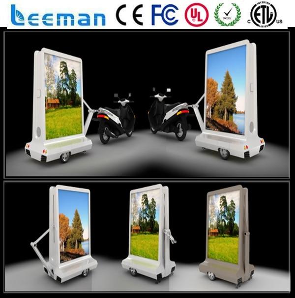 Leemanled P6 outdoor LED mobile advertising truck mobile