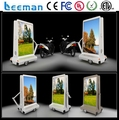 Leemanled P6 outdoor LED mobile advertising truck mobile stage truck 3-side display truck For led trail/truck light
