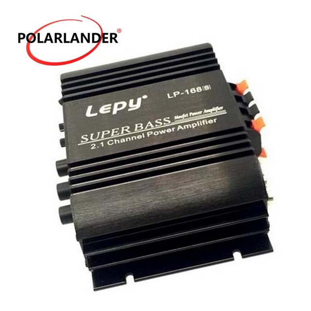 Special Price LEPY LP- 168S 12V 2.1 Channel Auto Audio Car Amplifier Power Subwoofer Bass Output Stereo Sound WithAUX Function Loud Speaker