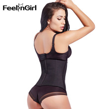 Big Discount! 9 Steel Boned Corset 100% Latex Waist Trainer For Women Latex Waist Cincher Hot Body Shaper Women Shapewear