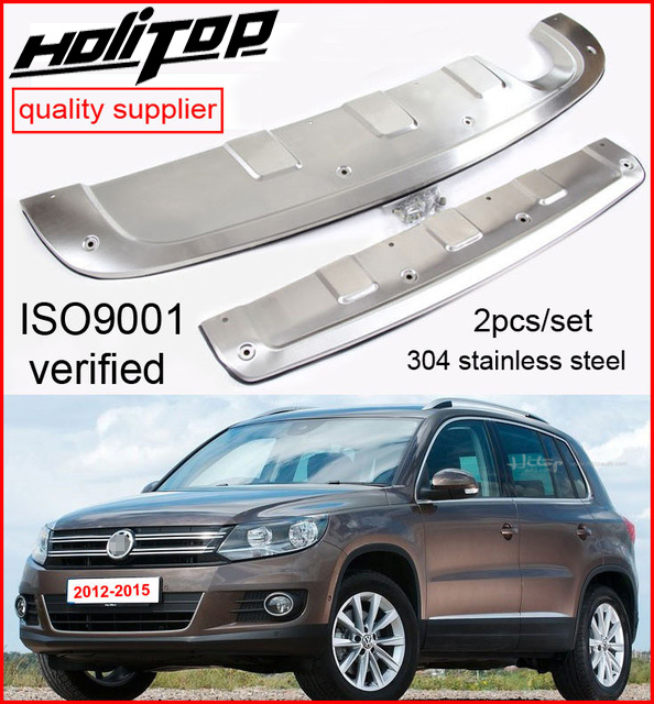 skid plate/bumper guard bumper protector for VW Tiguan 2012 2013 2014 2015 2016, 2pcs/set,304 stainless steel,promotion price earth star 12 inches 304 stainless steel propane fire pit ring burner promotion price page 2