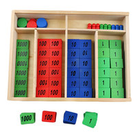 Wooden Montessori Materials Montessori Stamp Game Math Materials Learning Educational Toys for Kids Juguetes Brinquedos MG1164H
