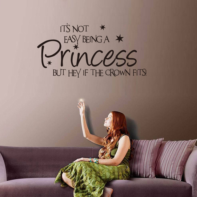 prinzessin sprüche englisch Aliexpress.: Prinzessin heißer Prinzessin kinderzimmer  prinzessin sprüche englisch