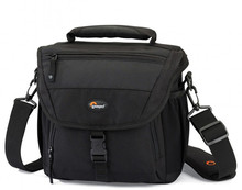 Hot Sale Free shipping Genuine Lowepro Nova 170 AW Camera Bag Single Shoulder Bag Case Backpack With  all weather Cover