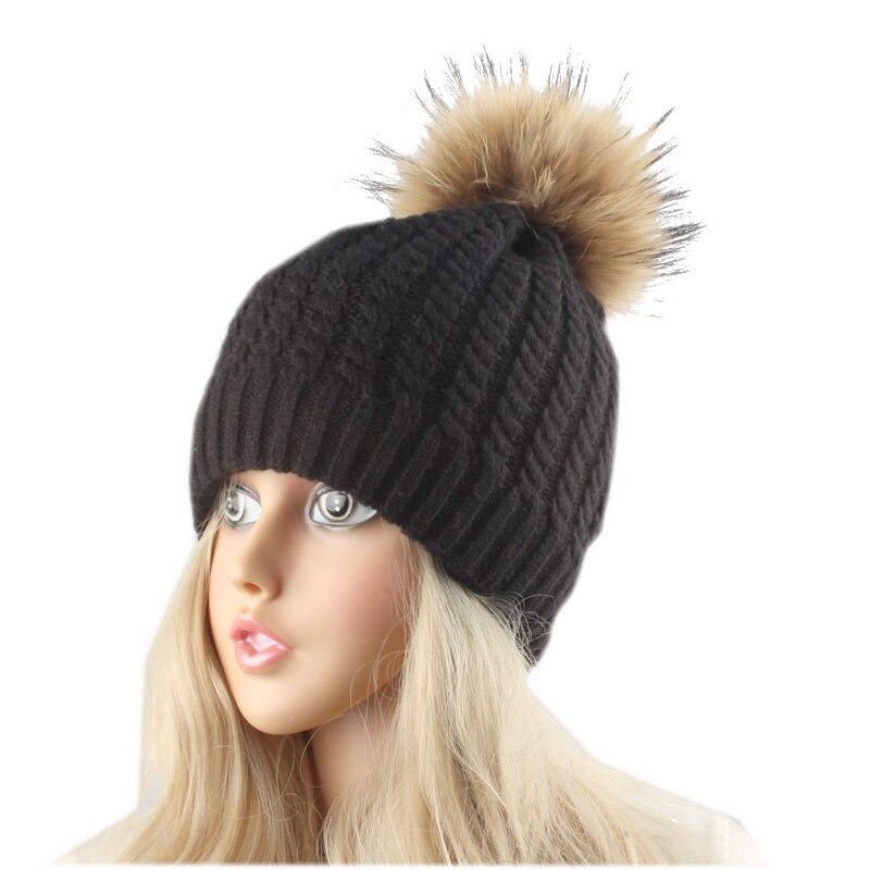 Čepice zimní teplá fleecová podšívka pro ženy Pravá - Příslušenství pro oděvy