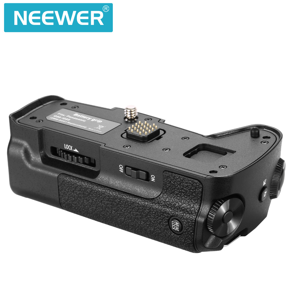 Neewer Camera Vertical Battery Grip Replacement for the Original DMW-BGG1  for Panasonic G80 G85 Camera Work with Battery