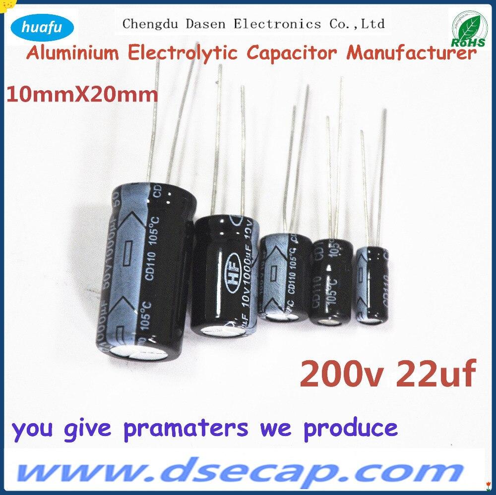 wholesale CD110 super capacitor 220V 22uf aluminium ac