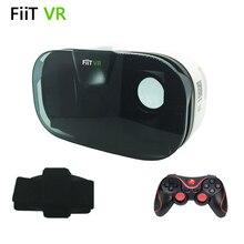 "2016 FIIT VR 2Nความจริงเสมือนแว่นตา3DของG Oogleกระดาษแข็งสำหรับ""4.0-6.5″โทรศัพท์+เมาส์ไร้สายบลูทูธGamepad"