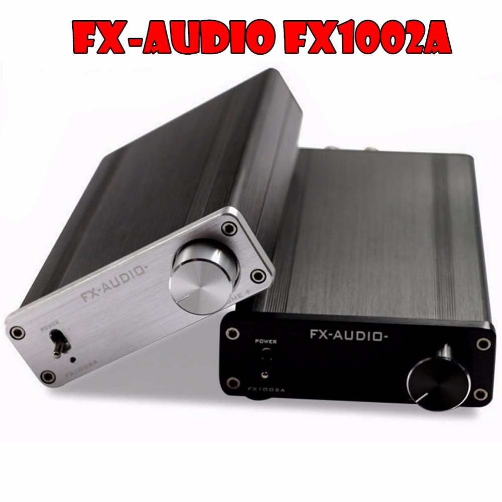 FX-AUDIO FX1002A TDA7498E+TL082 Digital Amplifier HiFi Stereo Dual BTL Power Amp High-power 160W*2 Inspired by A1 Circuit hifi amplifier digital bluetooth 4 0 audio amp 160w 160w support u disk sd ape fx m 160e white black