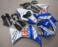 Горячие продаж, Yzf1000 R1 09 10 11 обвес для Yamaha Yzf R1 2009 - 2011 гонки мотоцикл FIAT кузов обтекателя ( литья под давлением )