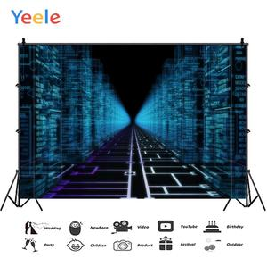 Yeele Digital Technology Building Stage Optical Line Photography Backgrounds Customized Photographic Backdrops for Photo Studio