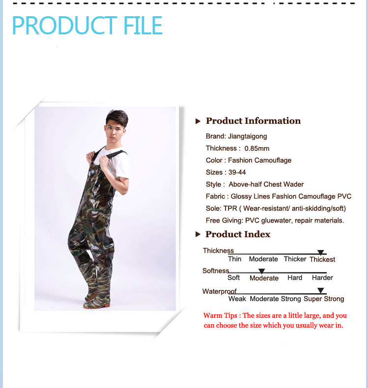 Fishing Chest Waders 15