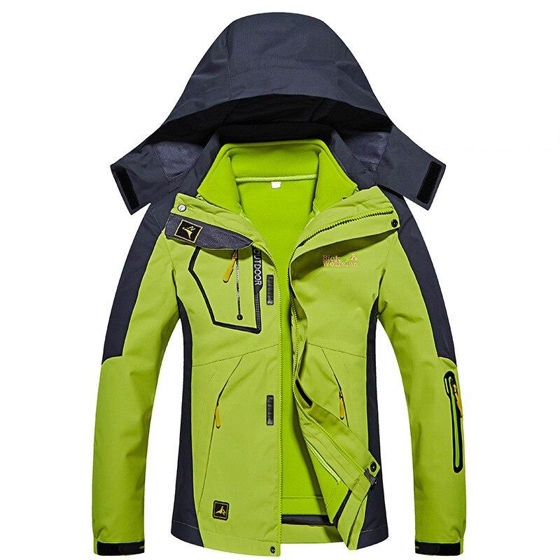Hiver Ski vestes femmes imperméable respirant 3 en 1 neige veste thermique manteau extérieur Ski de montagne Snowboard veste