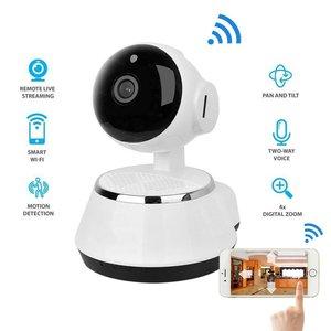 Image 2 - 2017 กล้อง IP ไร้สาย WIFI 720P กล้องวงจรปิดระบบรักษาความปลอดภัยภายในบ้าน Micro Sd สนับสนุน Microphone & P2P APP ฟรีพลาสติก ABS