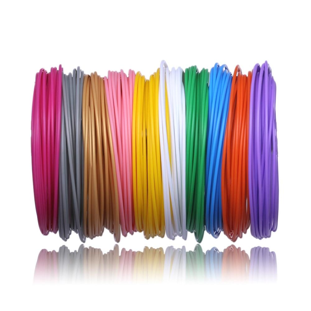 50M/100M PCL 3D Pen Filament for Low Temperature 3D Printing Pen