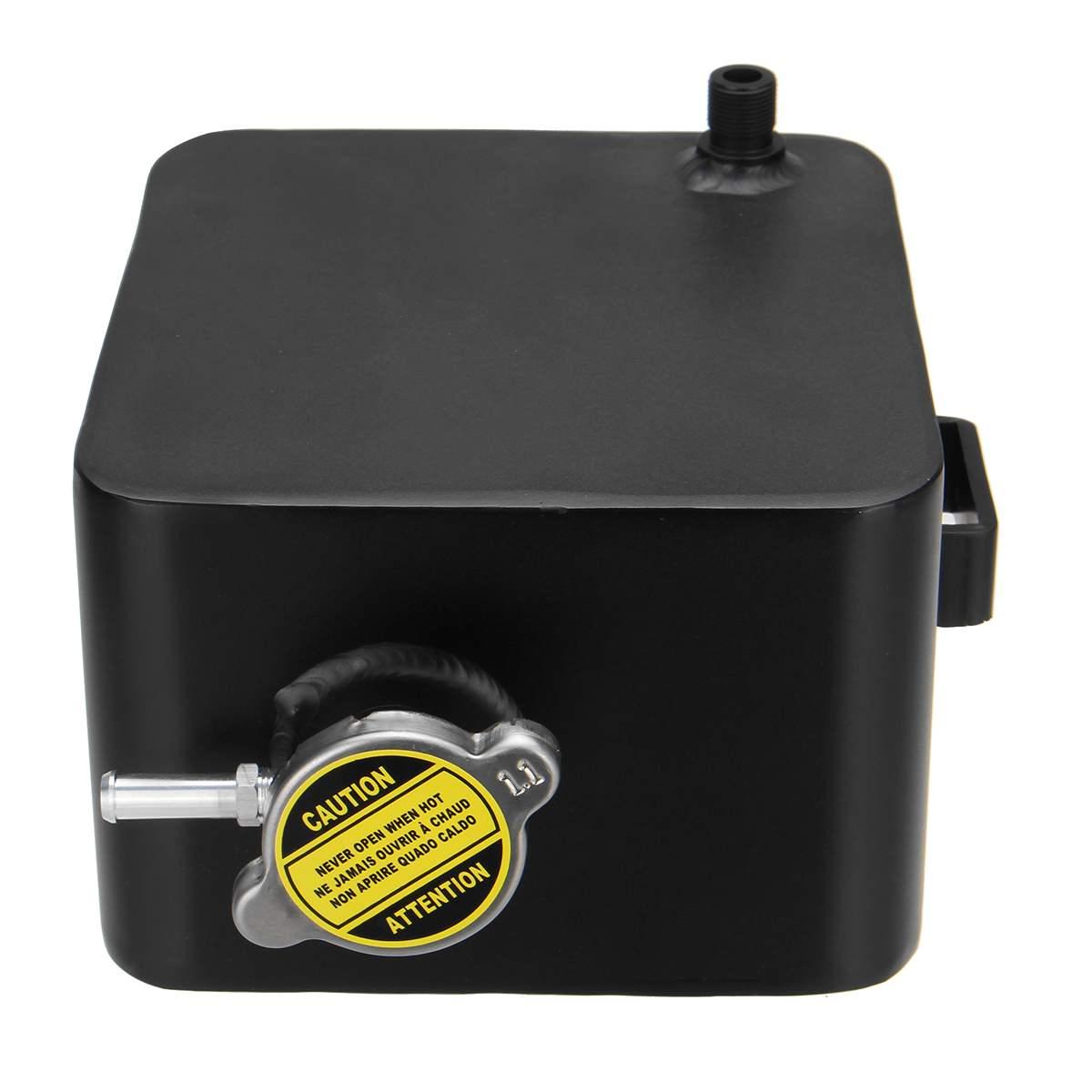 2.5L alliage aluminium réservoir d'eau liquide de refroidissement universel réservoir de débordement réservoir Kit refroidisseur Automobile voiture arrosoir vase d'expansion - 6