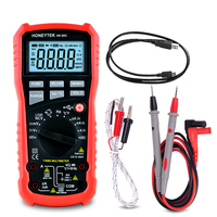 ESR Meter Capacitor Tester True RMS Temperature 6000 Count USB Date Transfer DC/AC Voltage Indicator Electric Testers Probe Tip