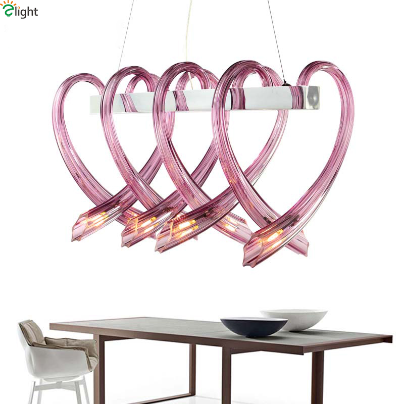 Modern Lustre Crystal Led Chandeliers Lighting Chrome Metal Dining Room Led Pendant Chandelier Lights Living Room Hanging Light modern lustre blue glass led chandeliers lighting copper living room led pendant chandelier lights dining room led hanging light