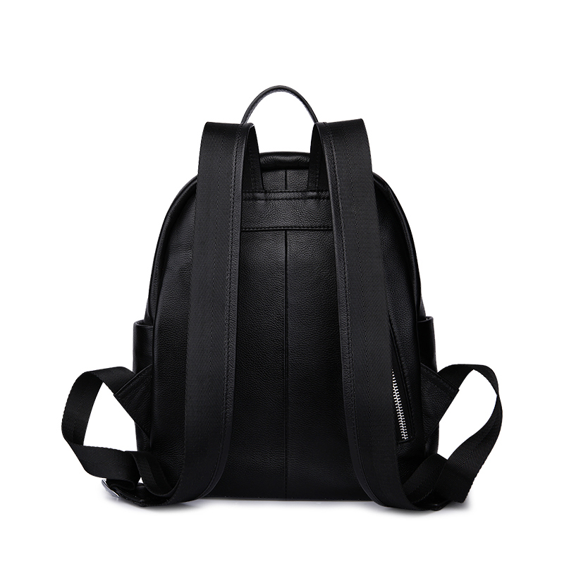Leather Backpack Laptop Daily