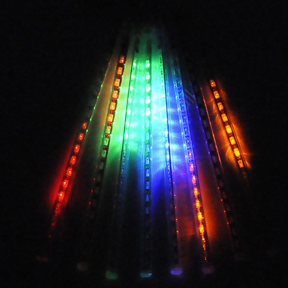 Colorful led christmas lights outdoor rain tube fall tube raining colorful led christmas lights outdoor rain tube fall tube raining led meteor light us to au aloadofball Gallery