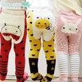 2015 осень зима мальчик девочка малышей теплее прекрасный образец животных детские п . п . нижняя брюки для 0-24месяцев младенцев