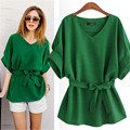 2017 Summer Tops Kimono Vintage Plus Size S-5Xl Women Blouses Bat Sleeve Casual Ladies Chiffon Shirt Loose Blusas Camisa Mujer